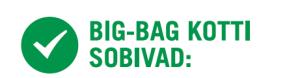 Big-Bag kottis sobivad