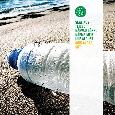 Plastpudelite taaskasutamine